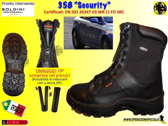 immagini dettagliate prodotto caldo nuovo economico Operazioni Speciali - 358 Security anfibi professionali Soldini ...