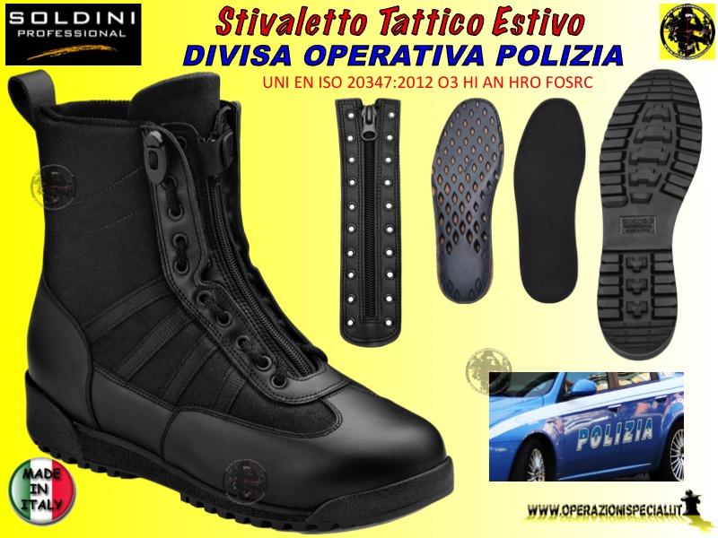 cieco qualità stabile l'atteggiamento migliore Operazioni Speciali - Stivaletto operativo polizia di stato italiana
