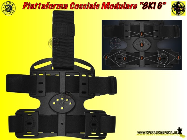 Piattaforma kit cosciale Vega 8K16