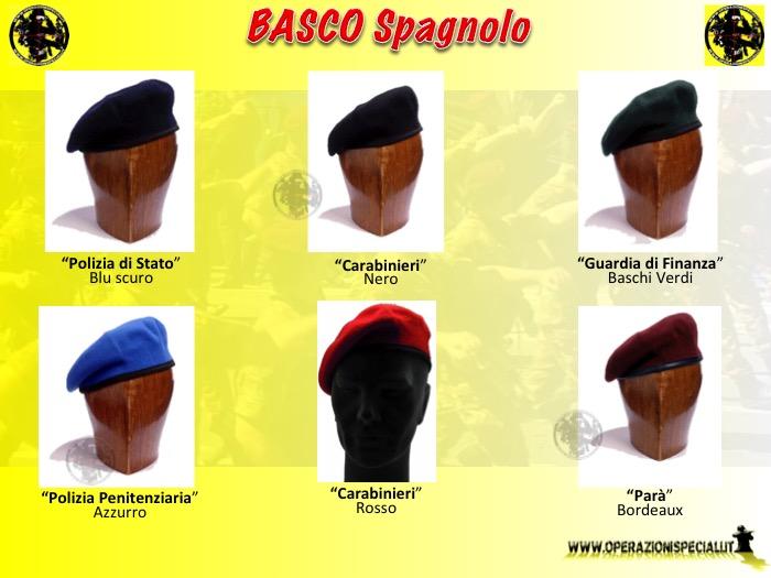 Operazioni Speciali - Basco militare modello Spagnolo 738f59456e23