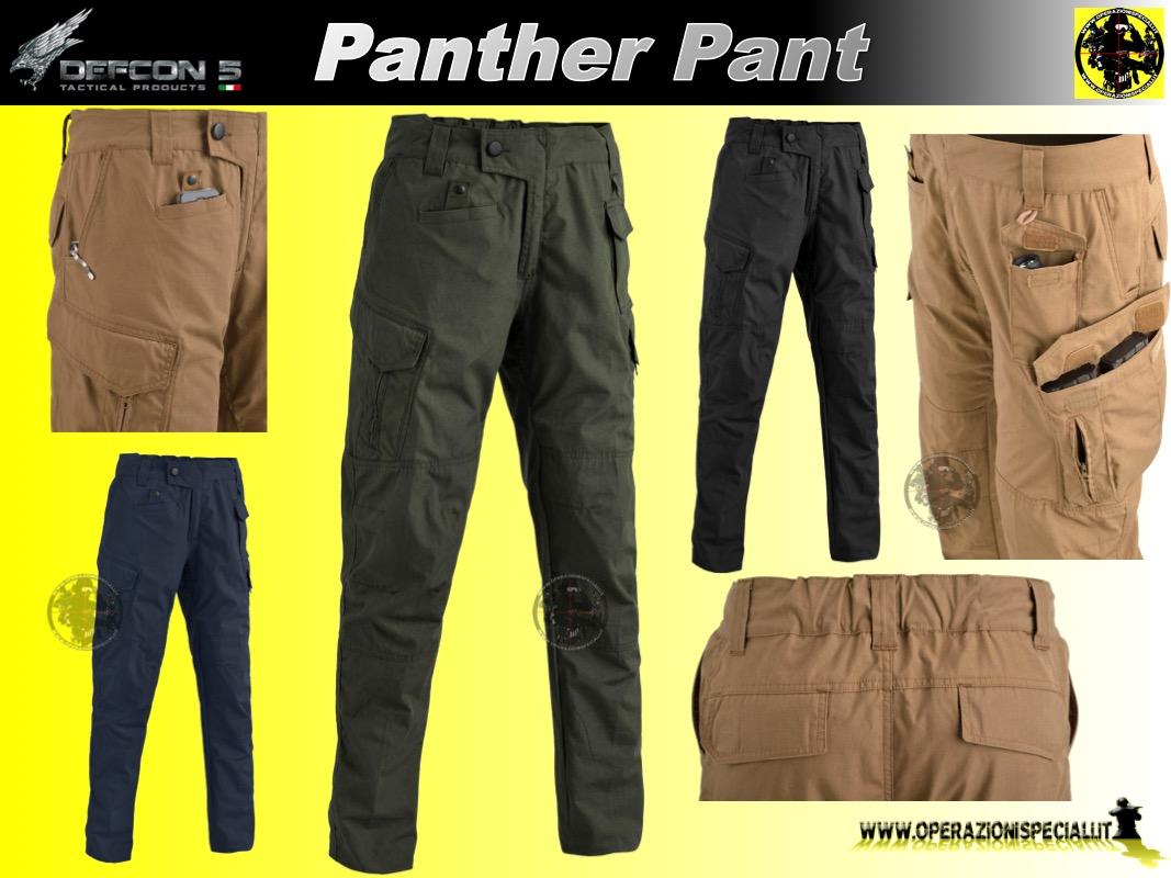 Pantaloni Tattici Panther 3416 Defcon5
