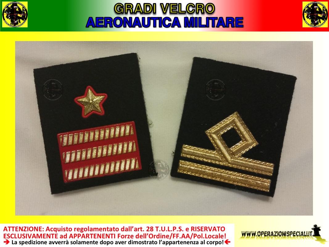 Operazioni Speciali - Gradi velcro Aeronautica Militare Italiana 1f0f02750682